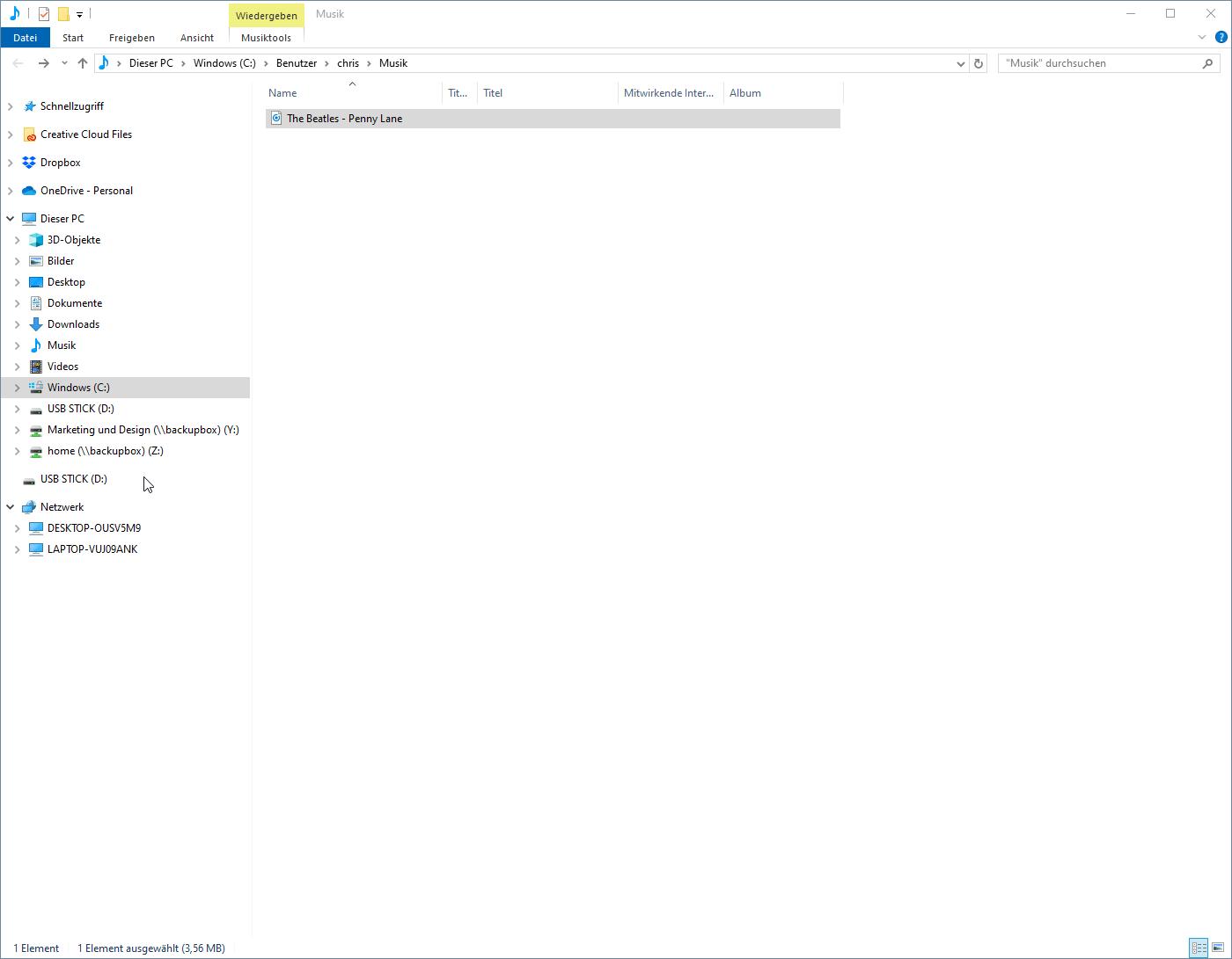Youtube Musik auf USB Stick laden - Musikdateien auf USB Stick kopieren