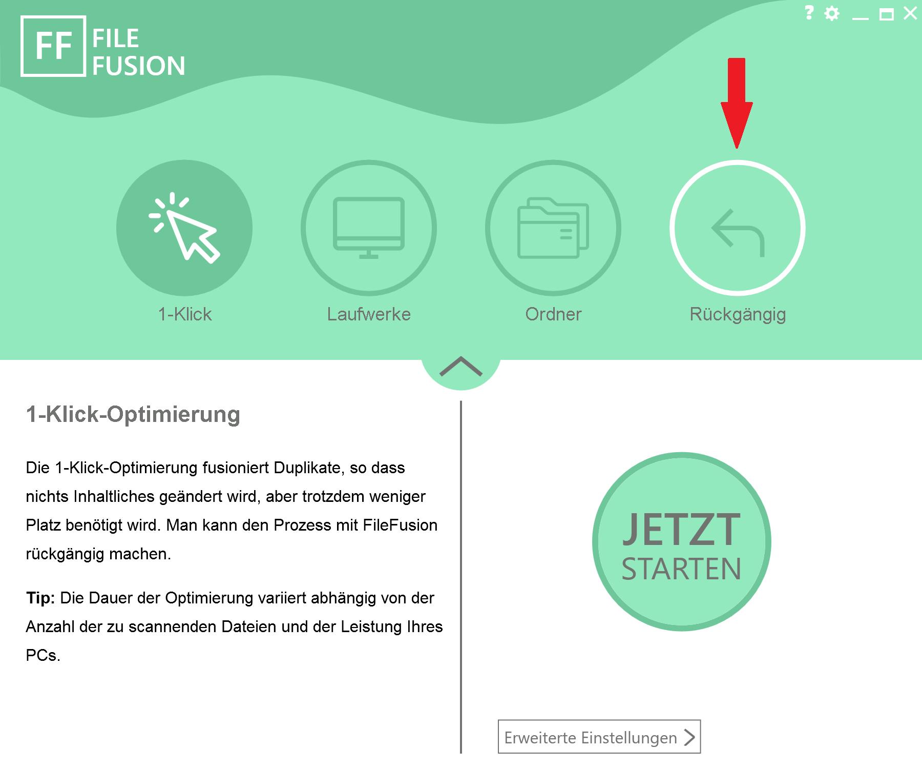 7. Doppelte Bilder auf PC finden - Änderungen zurücksetzen