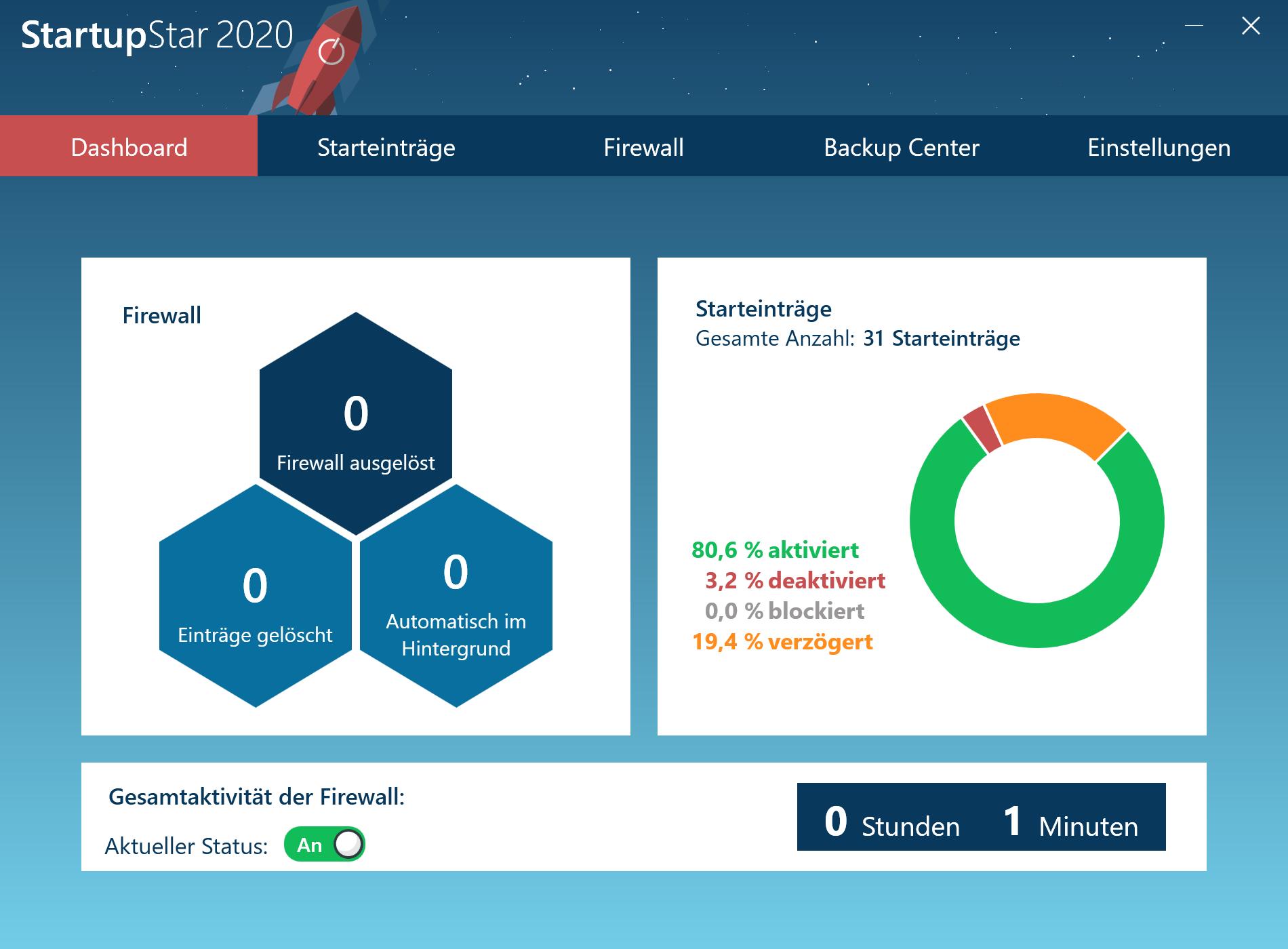 Programme automatisch starten - StartupStar