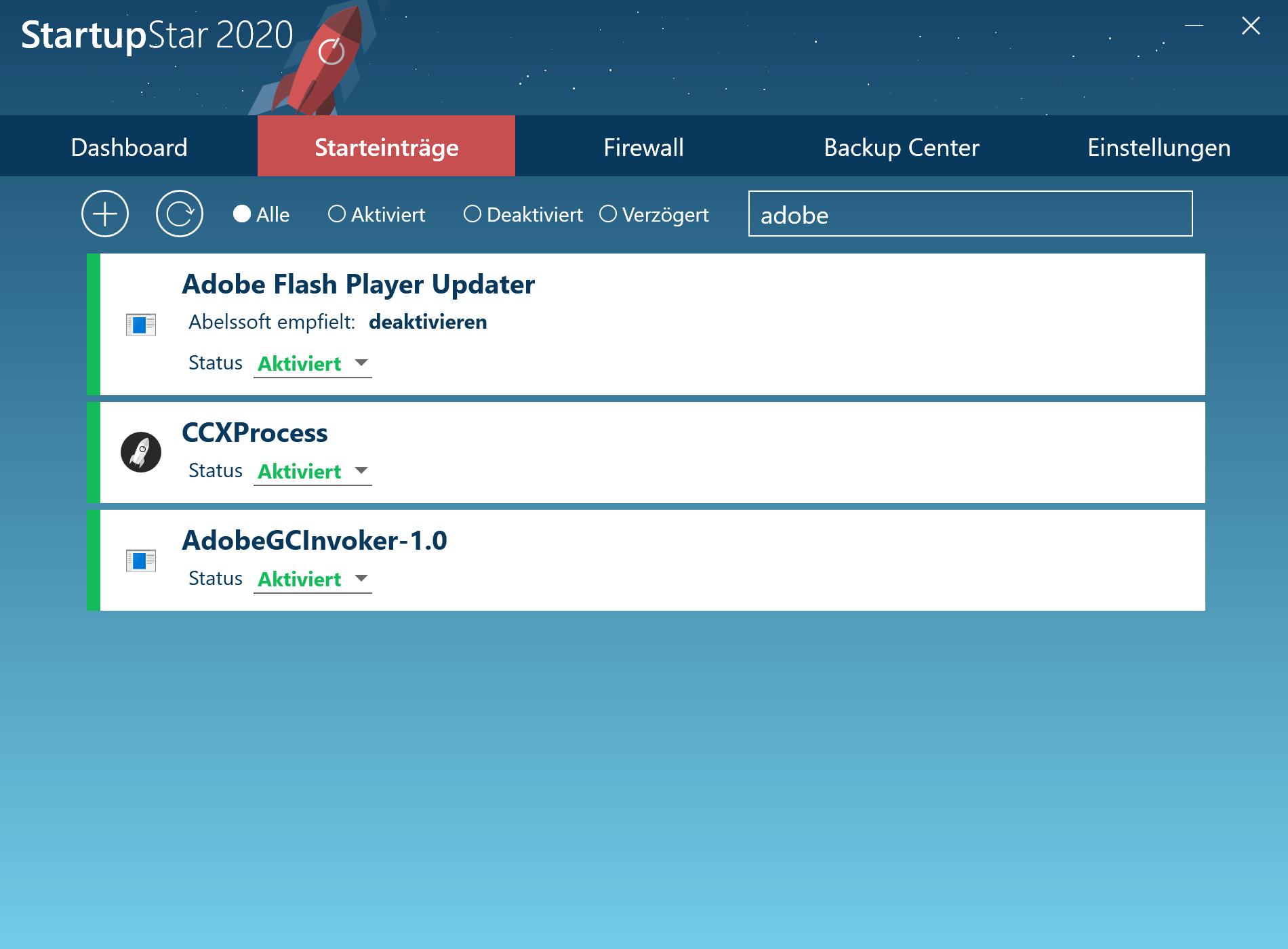 Programme automatisch starten - Programme im Autostart suchen