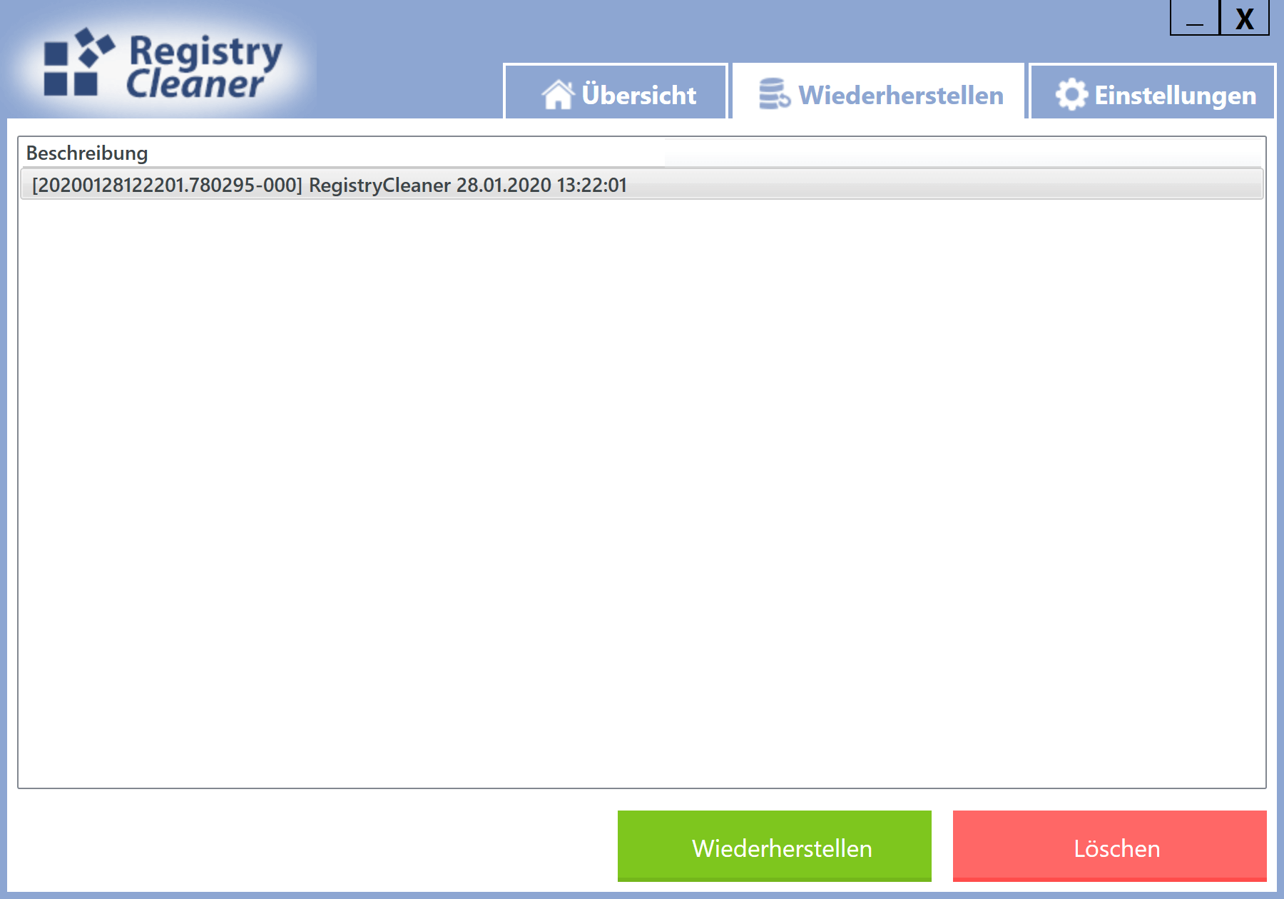 Windows 10 Registry schneller machen - Einträge wiederherstellen