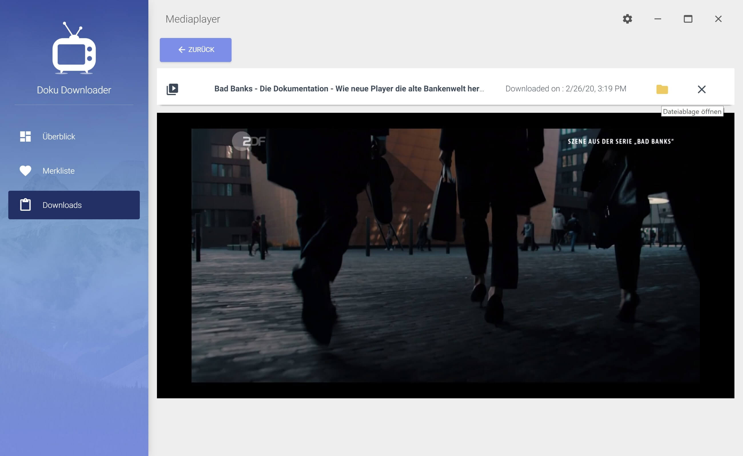 ZDF Dokumentationen aus Mediathek herunterladen - Doku ansehen